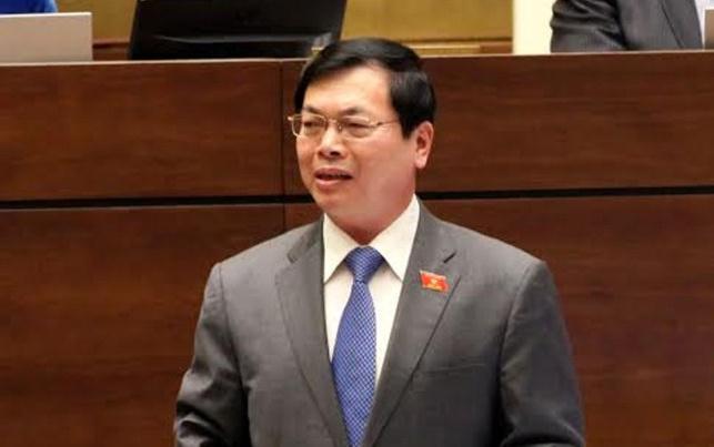 Tổng Bí thư yêu cầu kiểm tra với ông Vũ Huy Hoàng nếu có dấu hiệu vi phạm. ảnh: Trung tâm thông tin quốc hội.