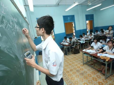 Kết quả hình ảnh cho thầy giáo làm toán sai