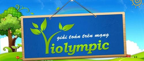 Giải toán trên mạng cùng VOlympic