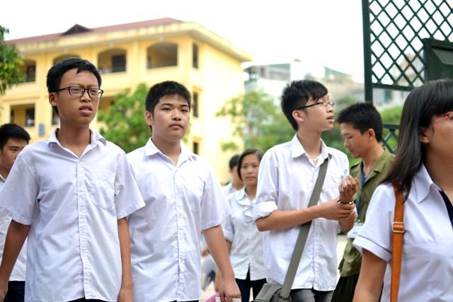 Đối tượng tuyển thẳng vào lớp 10 tỉnh Vĩnh Long năm 2016