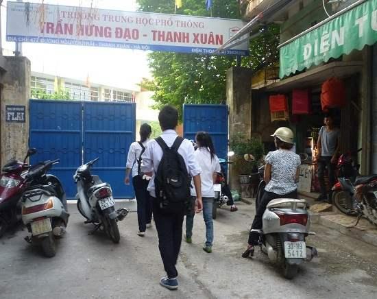 , trường THPT Trần Hưng Đạo - Thanh Xuân có 480 chỉ tiêu/3.887 nguyện vọng đăng ký (1 chọi 8)