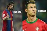 Ronaldo bĩu môi, Messi nhún vai cười khẩy