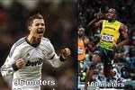 Tốc độ kinh hoàng của Ronaldo: Chạy 96m hết đúng 10 giây