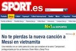 Báo thân Barca ca ngợi bài hát về Messi của fan Việt