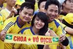 Hot girl xứ Nghệ hết lòng cổ vũ Công Vinh
