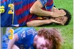 Biếm họa: Sergio Busquets đã tìm được người em lưu lạc David Luiz