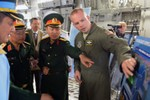 Thứ trưởng Bộ quốc phòng Việt Nam thăm Lầu Năm Góc