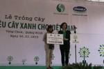 Vinamilk trồng 13.000 cây xanh tại mộ Đại tướng Võ Nguyên Giáp