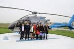 Khách hàng đi trực thăng nhận nhà tại FLC L'Amoura Samson