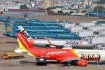 Jetstar Pacific dẫn đầu chậm và hủy chuyến bay