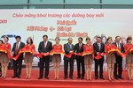 Thủ tướng cắt băng khai trương đường bay mới của Vietjet