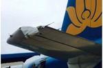 Phát hiện máy bay Vietnam Airlines bị rách cánh đuôi