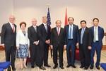 Lãnh đạo Tập đoàn BRG và Tập đoàn Hilton Worldwide tiếp kiến Thủ tướng