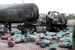 Nhà máy chiết nạp gas bị nổ như bom, nát vụn ở Bắc Ninh