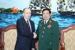 Bộ trưởng Quốc phòng Phùng Quang Thanh tiếp Giám đốc An ninh Nga