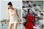 Những gót chân trần tuyệt đẹp của mỹ nhân Việt