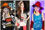 Loạt thời trang dự tiệc 'dị hợm' của MC Việt Nga