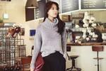 Nàng công sở mặc đẹp: Những chiếc áo cổ lọ tiện dụng