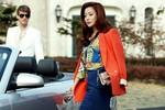 Mặc đẹp như 'gái một con' Kim Hee Sun