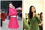 Diện áo dạ choàng ngày đông xinh tươi như mỹ nhân Việt