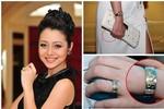 Những chiếc nhẫn đính ước bạc tỷ của sao Việt