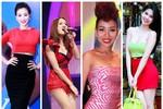 """8 """"con nghiện"""" váy bó của showbiz Việt"""