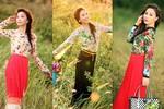 Tuyệt chiêu mặc váy hoa xinh tươi như sao Việt
