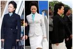 Phong cách thời trang quý phái của đệ nhất phu nhân Trung Quốc