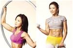 Choáng với cơ bụng 6 múi của kiều nữ Hàn