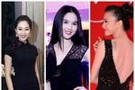 Ngắm mỹ nhân Việt hút hồn bằng trang phục đen tuyền