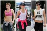 Tìm hiểu trang phục tập gym của sao