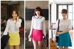 Chọn chân váy màu sắc cho nữ công sở trẻ
