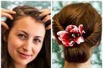 6 bước đơn giản cho kiểu tóc xoắn ngày hè