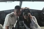 Xử phạt Cơ trưởng vì để Lý Nhã Kỳ lên buồng lái máy bay