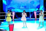 Linh Lan - Tuyết Lan - Phương Nhi đối đầu cực sung tại The Voice Kids
