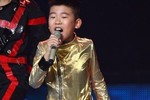 Ngọc Duy để lại hình ảnh đẹp trong đêm chung kết The Voice Kids