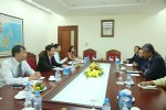 Trưởng Ban Kinh tế TƯ làm việc với Trưởng Đại diện IMF tại Việt Nam và Lào