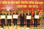 Bộ Chính trị đánh giá cao thành tích của Ban Kinh tế Trung ương