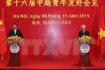 Thanh niên Việt-Trung cần tăng cường học hỏi, hợp tác chặt chẽ