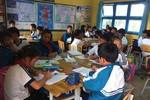 Học sinh ngồi nhầm lớp, sĩ số quá đông không học được phương pháp VNEN