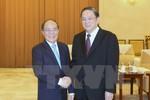 Chủ tịch Quốc hội hội kiến Chủ tịch Chính hiệp Trung Quốc
