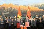 Ký kết Thỏa thuận hợp tác giữa Quốc hội Việt Nam và Trung Quốc