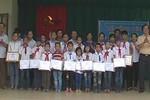 Đại gia đình nhà giáo lập quỹ học bổng tặng học sinh nghèo