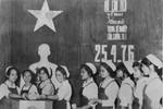 40 năm Tổng tuyển cử bầu Quốc hội của nước Việt Nam thống nhất