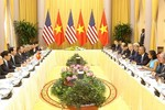 Nội dung hội đàm giữa Chủ tịch nước Trần Đại Quang và Tổng thống Barack Obama