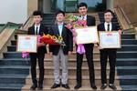 3 sinh viên Thái Nguyên tìm cách giám sát chất lượng nguồn nước qua Internet