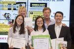 Sinh viên Việt Nam giành giải Nhì cuộc thi quốc tế tại Pháp