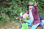 Cô gái 21 tuổi và hành trình đạp xe xuyên Việt 3.000 km