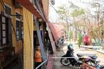 Hình ảnh trường học tan hoang tại Quảng Bình và Hà Tĩnh