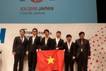 Năm 2018, học sinh Việt Nam bội thu huy chương trên đấu trường khu vực, quốc tế